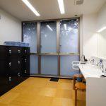 男性浴場更衣室